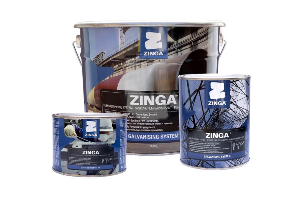 Zinga – A cold applied galvanising system