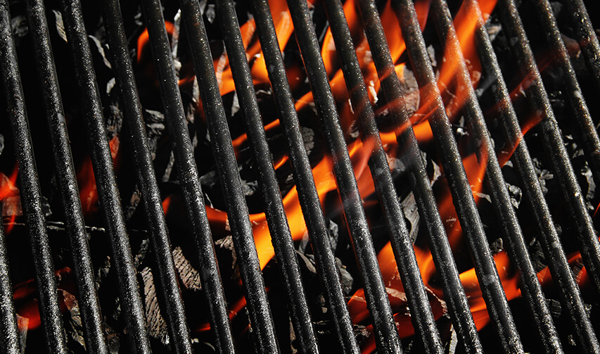 BBQ Grill Image | Bakeware coating | East Midlands Coatings