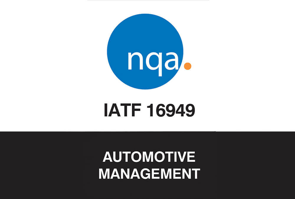 Successful transition to IATF 16949:2016 | News | East Midland Coatings