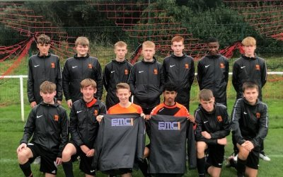 EMC sponsor local junior football team